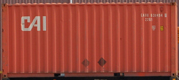 20DC CAXU container picture