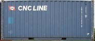 20DC CNCU container picture