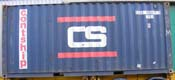 20DC CSQU container picture
