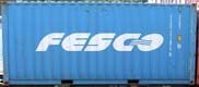 20DC FESU container picture