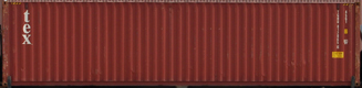 40HC TGHU container picture