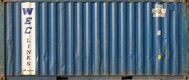 20DC WECU container picture