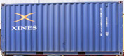 20DC XINU container picture