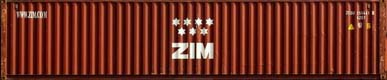 40DC ZCSU container picture